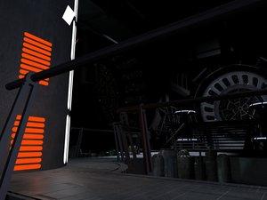 3D star wars room
