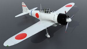 historical airplane aircraft type0 3D model