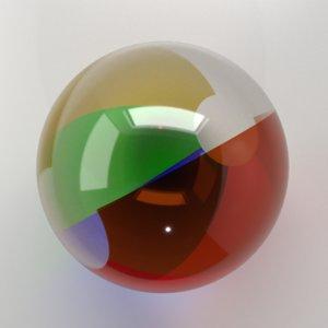 beach ball 2 3D