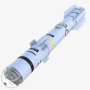 brimstone 2 missile 3D model