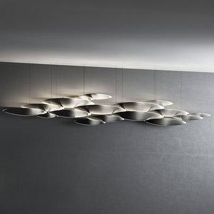 3D lucci argentati 9 14 model