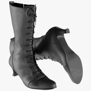 realistic women s heels 3D model