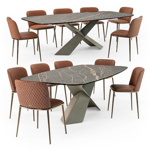 3D model tyron table magda ml
