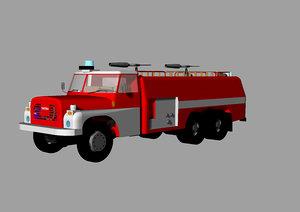 old tatra 148 cas 3D model