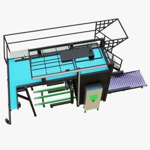 industrial parts 3D model