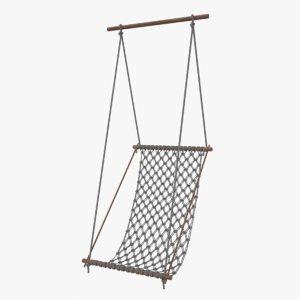 macrame swing chair hammock model