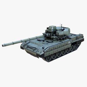 t-95 tank 3D model