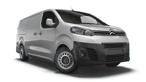 citroen dispatch xl uk-spec 3D