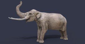 sinomastodon mastodon 3D model