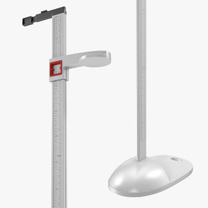 3D portable mechanical height measuring