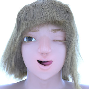 character woman model
