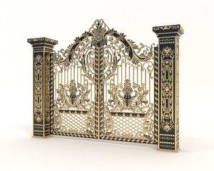 3D model gate classic