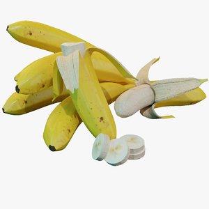 3D banana skin