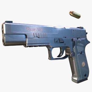 3D p220 pistol pbr