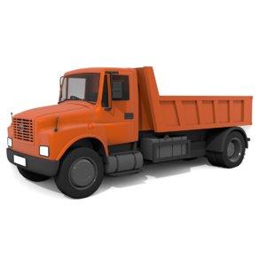 3D tata truck