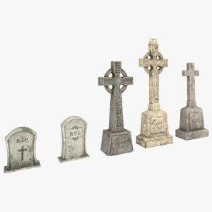 3D tomb set model