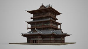 large multi-storied palaces model