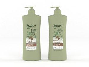 3D suave shampoo conditioner model