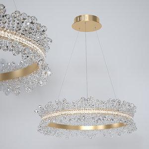 3D chandelier kink light 400 model