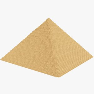 3D model pyramid architecture