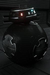 3D bb-9e star wars