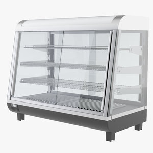 display refrigerator model