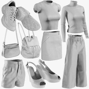 mesh clothing mix 11 model