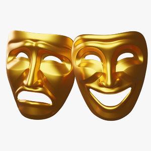 3D masks theater