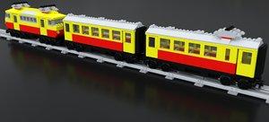 3D model bahn db 103 7740
