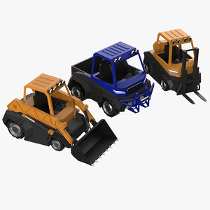 construction machinery model