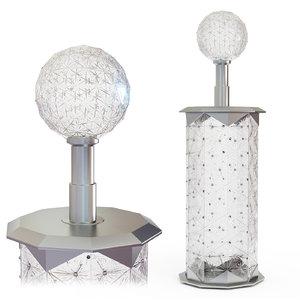 crystal column jamestown quare model