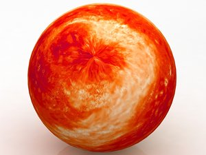3D star wars planet