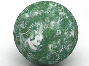 3D star wars planet model