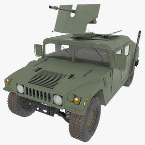 3D military humvee m998 m1025