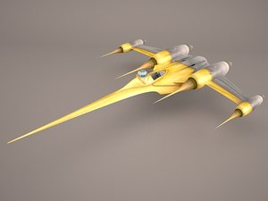 3D star wars naboo royal