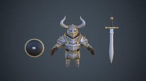 character pbr 3D model