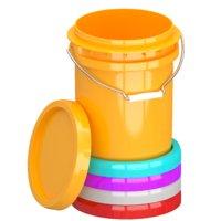 Food Grade 5l Plastic Bucket All Colors(1)