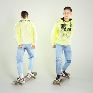 3D sporty handsome young man character