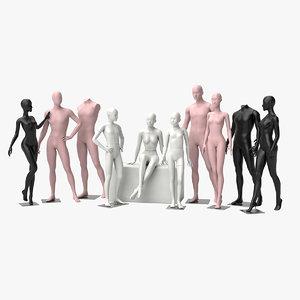 3D mannequin dummy