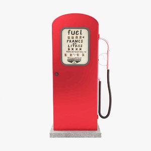 gas pump model