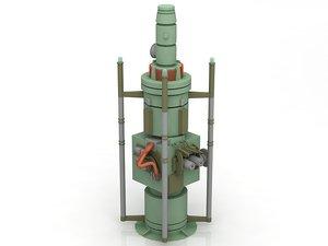3D moisture vaporator