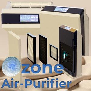 air purifier covid ozone 3D
