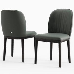 cattelan italia chair 3D model