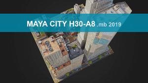 3D city streets