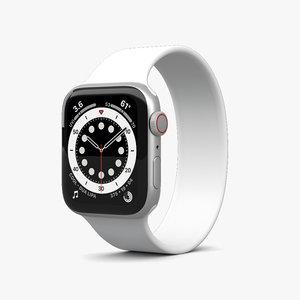 apple series 6 3D model