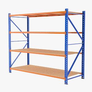 warehouse rack 3D