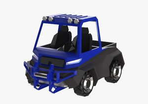 3D model utv vehicle