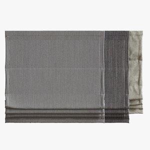 curtain 02 3d max