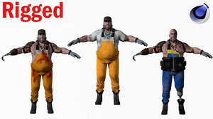 character human man model