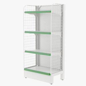 3D supermarket rack market